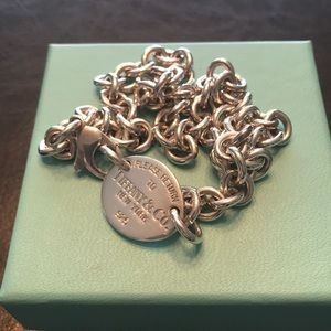 Tiffany & Co Tag Necklace